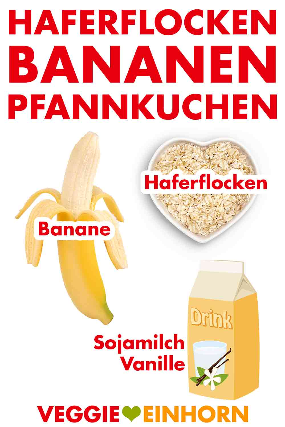 vegane haferflocken bananen pfannkuchen pancakes ohne ei und ohne mehl. Black Bedroom Furniture Sets. Home Design Ideas