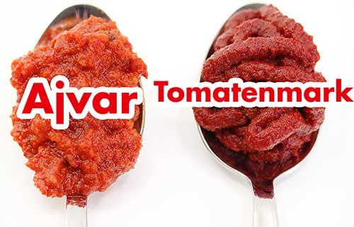 Ajvar und Tomatenmark