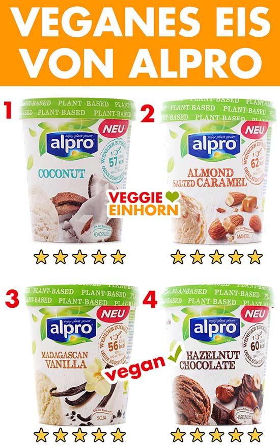 Veganes Eis von Alpro