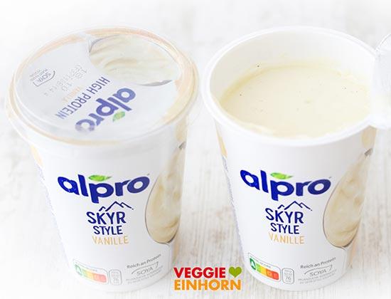 Alpro Skyr Style Vanille (400 g Becher)