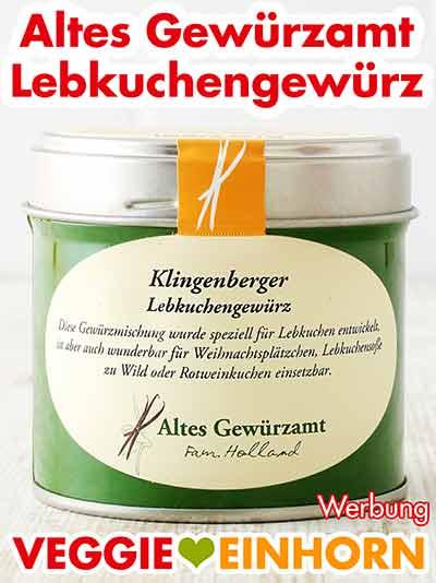 Eine Dose Klingenberger Lebkuchengewürz von Ingo Holland