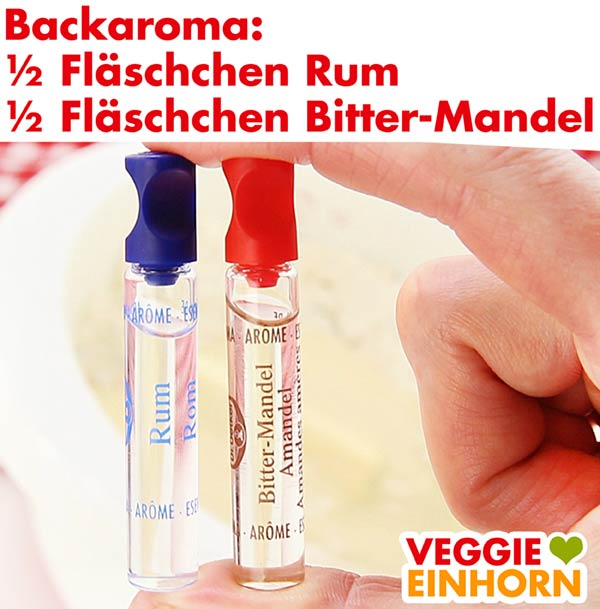 Backaroma Rum und Bitter-Mandel