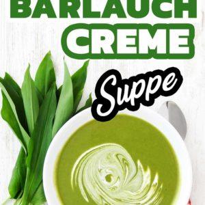 Vegane Bärlauch Creme Suppe