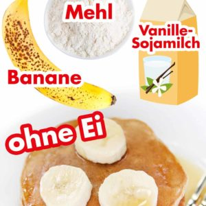 Bananenpfannkuchen Pinterest