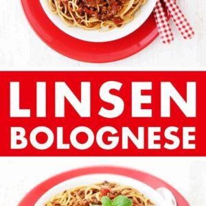 Beluga Linsen Bolognese Pinterest