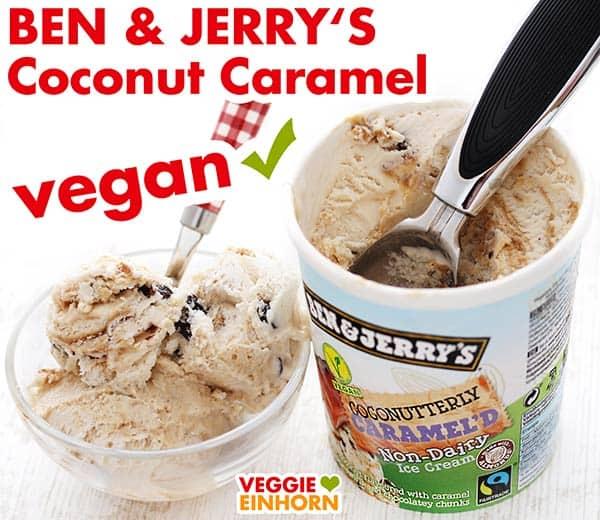 Ben & Jerry's veganes Eis Coconut Caramel