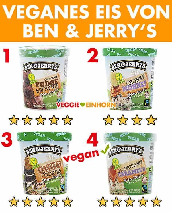 Veganes Eis von Ben & Jerry's