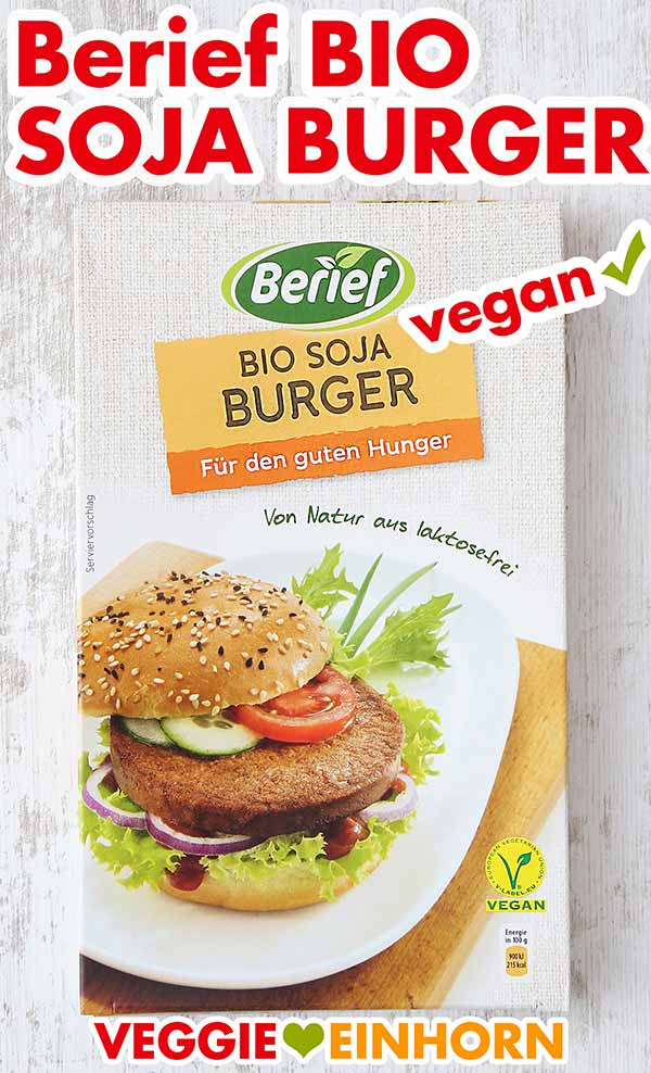 Berief Bio Soja Burger