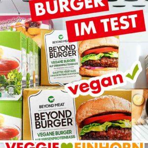 Beyond Burger Packungen im Gefrierschrank