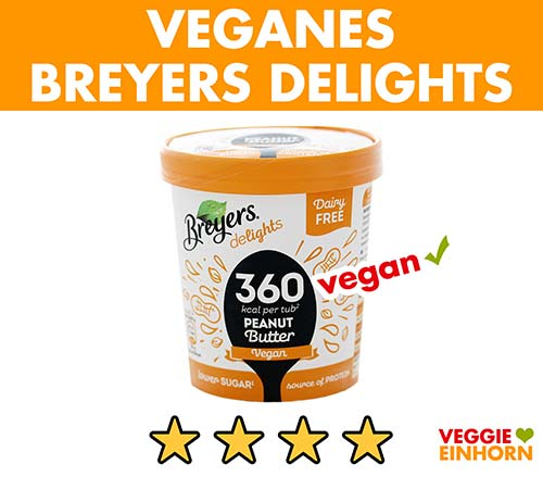 Veganes Breyers Delights Eis