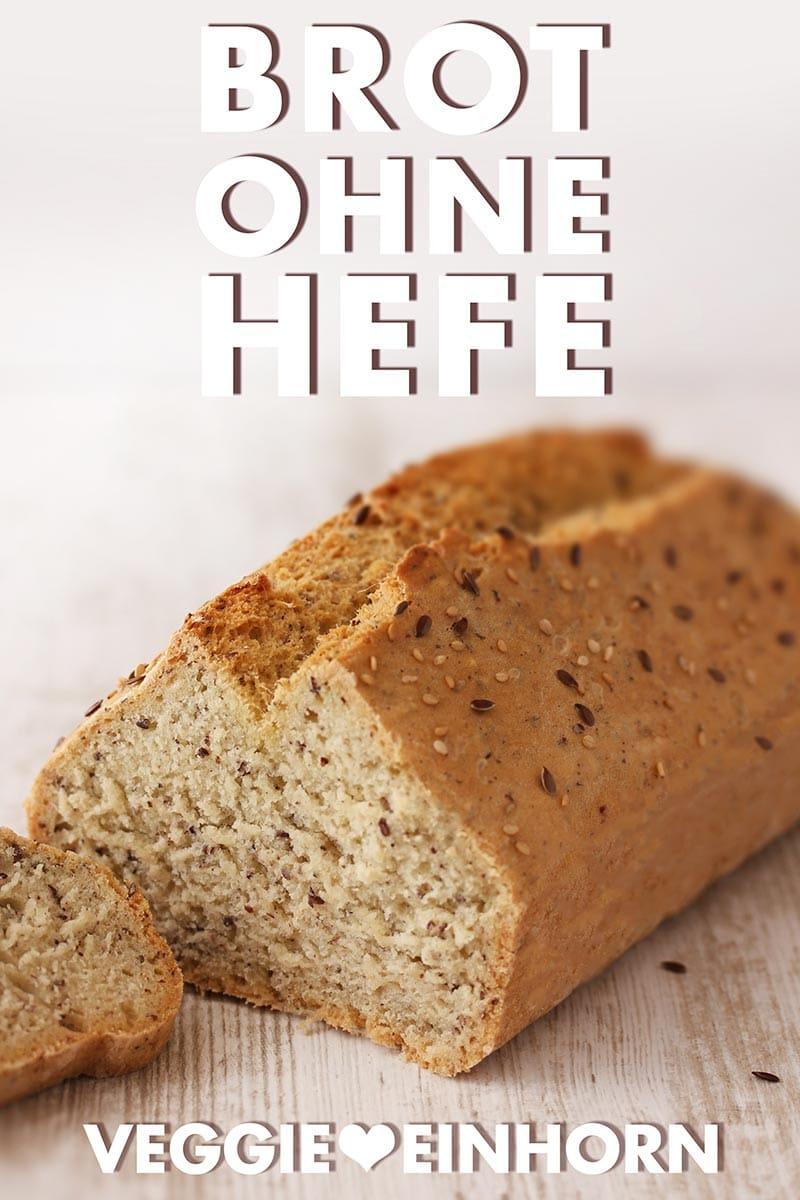 Selbst gebackenes Brot ohne Hefe
