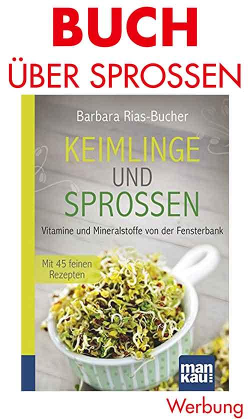 Buch von Barbara Rias-Bucher über Keimlinge und Sprossen