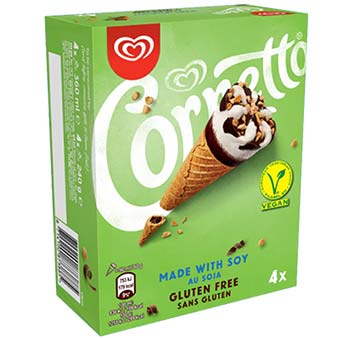 Cornetto Eis vegan
