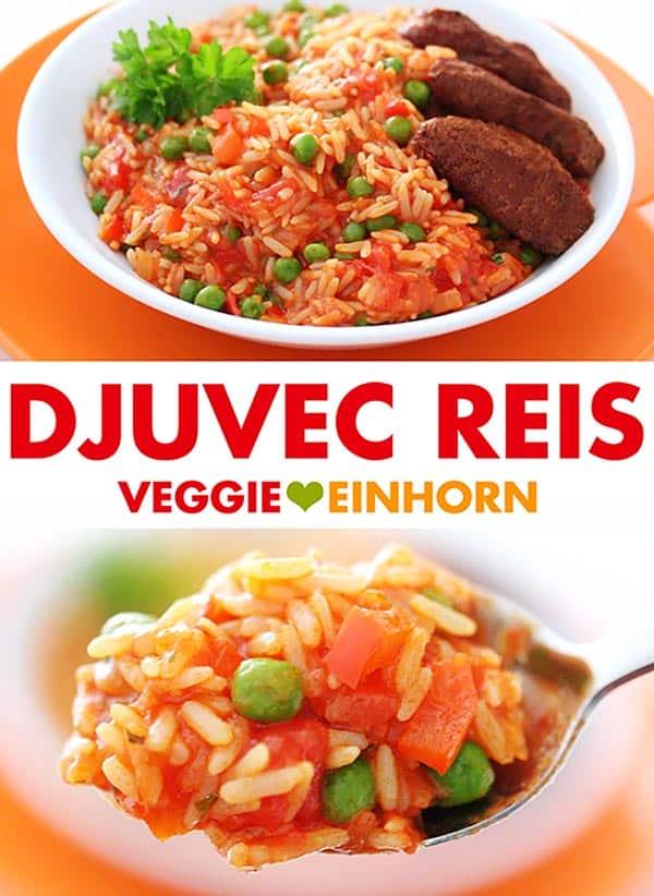 Einfaches Rezept für Djuvec Reis
