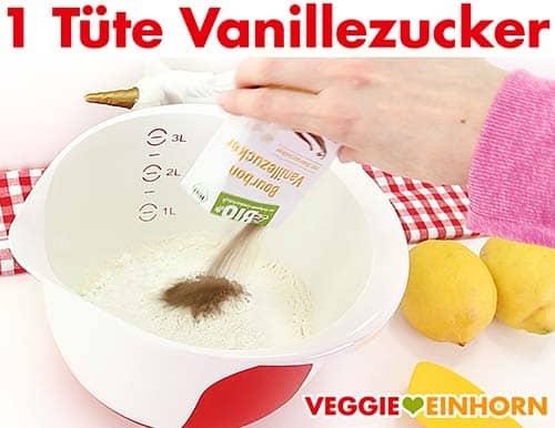 Eine Tüte Vanillezucker