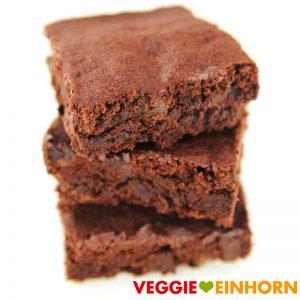Einfache vegane Brownies