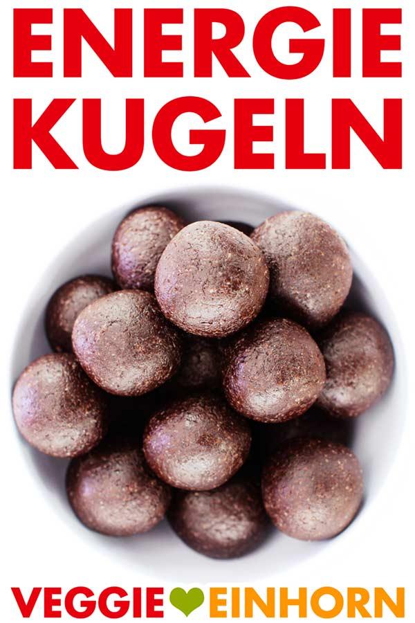 Energiekugeln Rezept vegan | Gesunde Energy Balls mit Datteln Mandeln und Kakao | Snack ohne Zucker