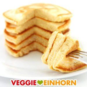 Fluffige vegane Pancakes