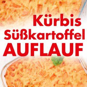 Kürbis Süßkartoffel Auflauf Pinterest