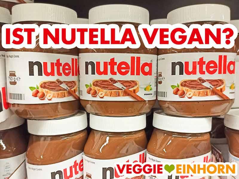 Nutella Gläser im Supermarkt