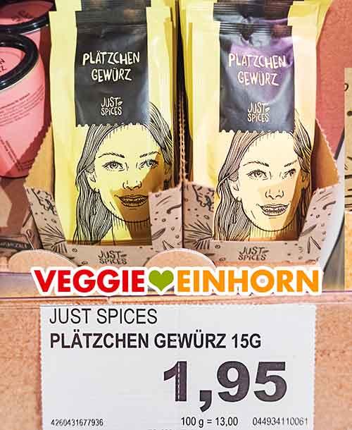 Just Spices Plätzchen Gewürz im Supermarkt