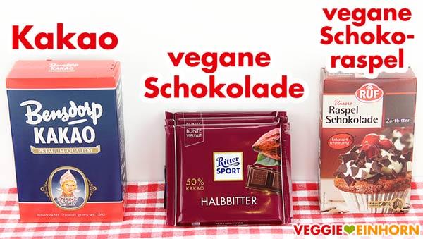 Kakao, Vegane Schokolade Ritter Sport Halbbitter, Raspelschokolade