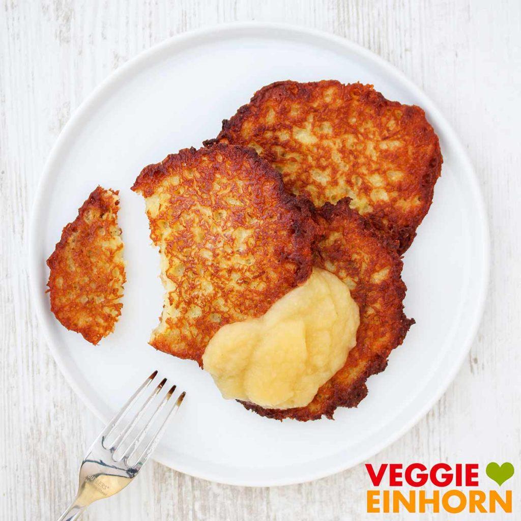 Kartoffelpuffer ohne Ei