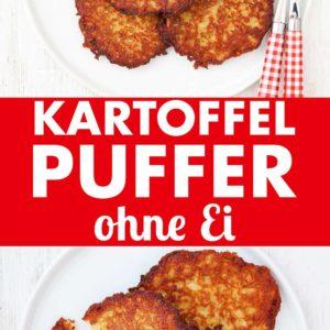 Kartoffelpuffer ohne Ei Pinterest