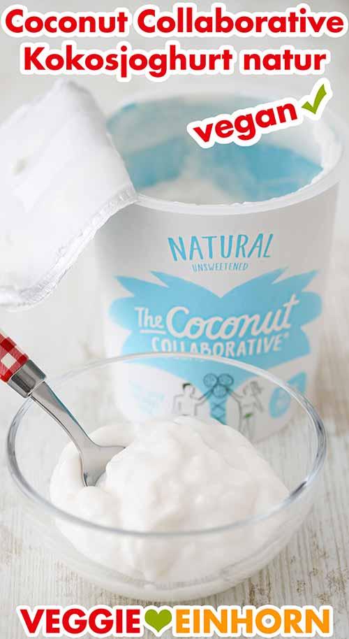 Ein Schälchen mit Kokosjoghurt von Coconut Collaborative