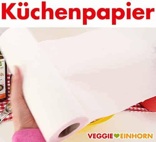 Eine Rolle Küchenpapier