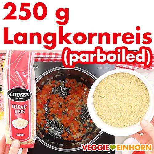 Langkornreis (Parboiled Reis)