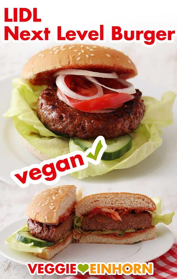Vegane Burger von Lidl