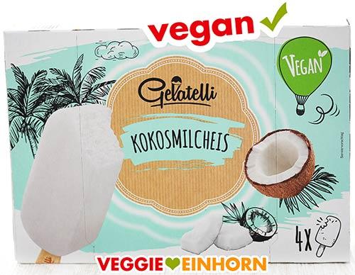 Veganes Eis am Stiel von Lidl