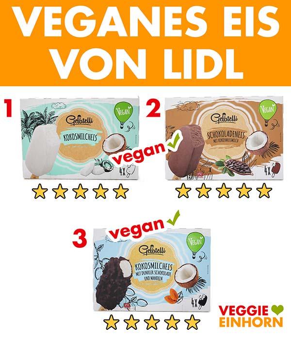 Veganes Eis von LIDL