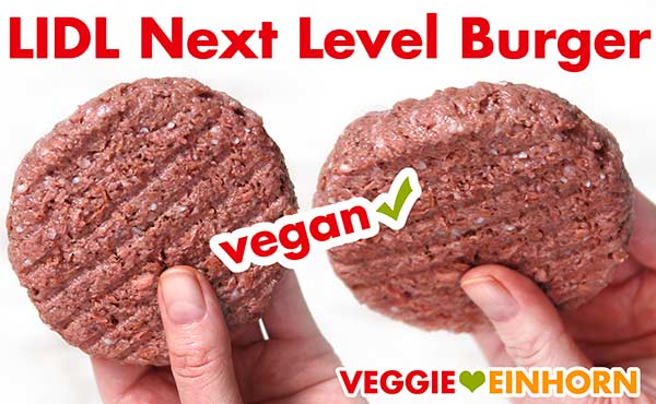 Rohe vegane Patties von Lidl