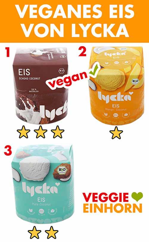 Lycka Eis Sorten