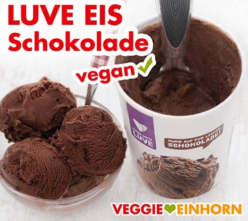 Luve Lupinen Eis Schokolade