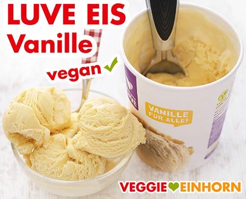 Veganes Vanille Eis aus Lupinen von Luve