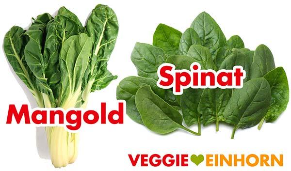 Mangold und Spinat