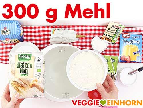 300 g Mehl