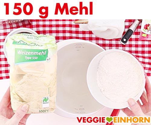 Mehl (Weizenmehl Type 550)