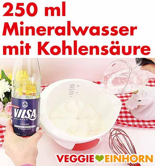 Mineralwasser mit Kohlensäure
