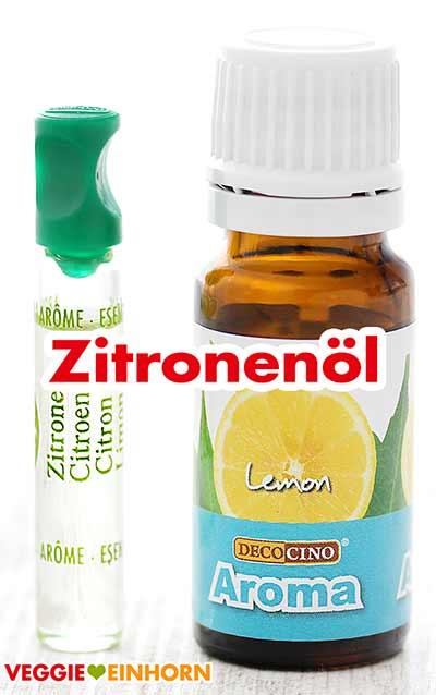 Zitronenaroma Zitronenöl