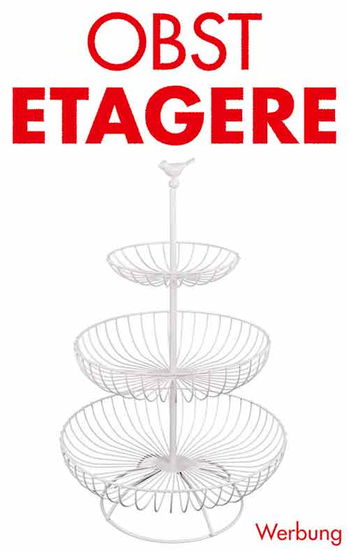 Obst Etagere