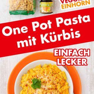 One Pot Kürbis Pasta Pinterest