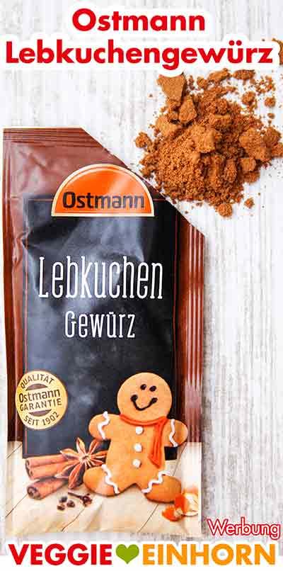 Ein Päckchen Lebkuchengewürz von Ostmann