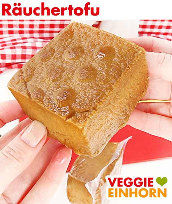 Räuchertofu für veganes Tofu Gulasch