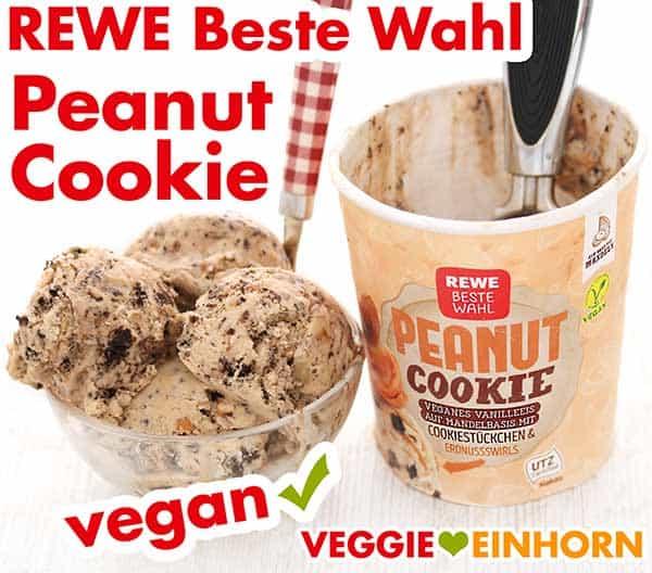 Rewe Beste Wahl Peanut Cookie Eis