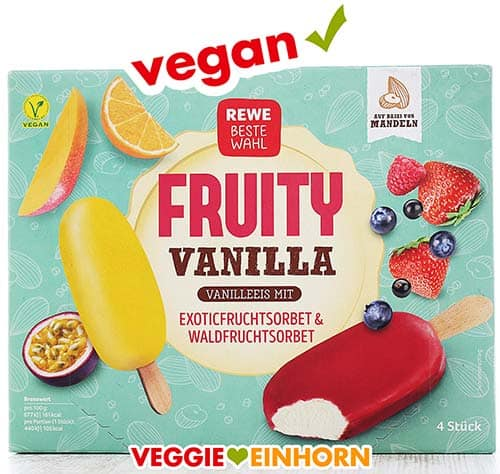 Rewe Beste Wahl Fruity Vanilla