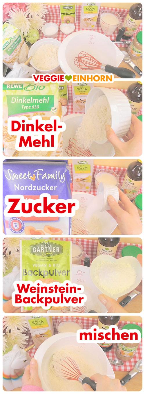 Fluffige VEGANE PANCAKES | vegane Rezepte deutsch | Leckeres Rezept für vegane Pfannkuchen zum Frühstück | Dinkelpfannkuchen mit Dinkelmehl und Apfelmus | Vegan backen ohne Ei, ohne Milch und ohne Banane | Beste vegane Pancakes für Kinder | Einfaches Rezept mit VIDEO #VeggieEinhorn